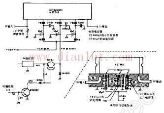 简易大功率中频放大器电路线性放大电路 电路图 捷配电子市场网