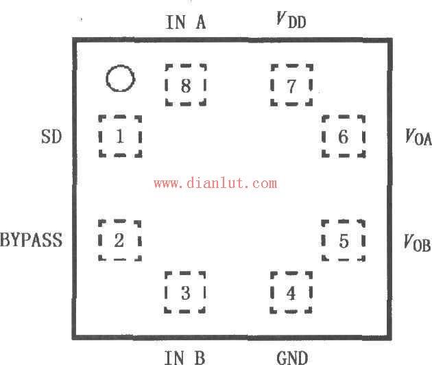 【图】lm491应用于单声道耳机放大电路音频电路