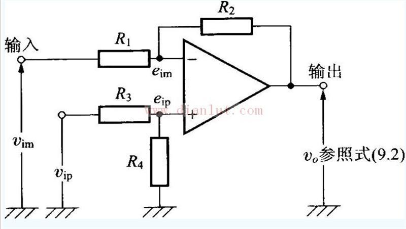 【图】运放设计的差动放大电路电路图线性放大电路