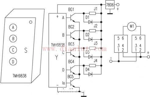 【图】音响音量简单遥控电路及原理音频电路