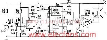 新型CA3160设计的D类功放电路原理图