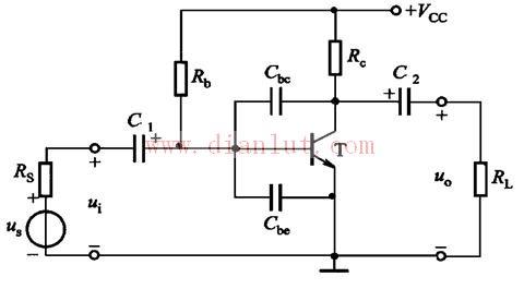 【图】高频特性的单管共射放大电路音频电路