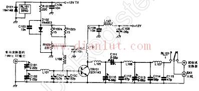 新型中频RF功率放大器电路音频电路 电路图