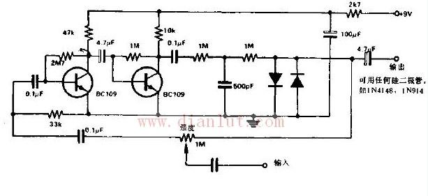 颤滑音箱1电路图-颤滑音箱电路的一般应用