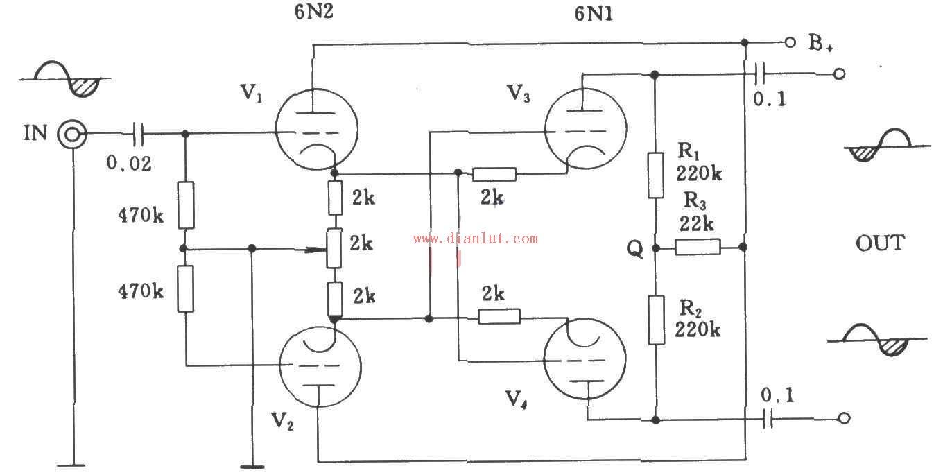 """电子管,是一种在气密性封闭容器(一般为玻璃管)中产生电流传导,利用电场对真空中的电子流的作用以获得信号放大或振荡的电子器件。早期应用于电视机、收音机扩音机等电子产品中,近年来逐渐被晶体管和集成电路所取代,但目前在一些高保真音响器材中,仍然使用电子管作为音频功率放大器件(香港人称使用电子管功率放大器为""""煲胆"""")。   电子管体积大、功耗大、发热厉害、寿命短、电源利用效率低、结构脆弱而且需要高压电源的缺点,现在它的绝大部分用途已经基本被固体器件晶体管所取代。但是电子管负载能力强,线性性能优于晶体管,在"""