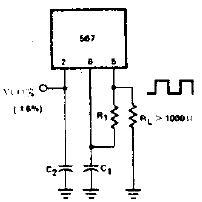 具有转换时间功能的精密振荡器电路