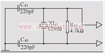 振荡频率为6.37MHz的振荡器电路