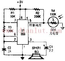 光控振荡器电路的应用