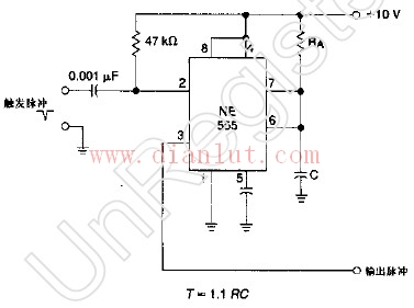 单稳态多谐振荡器的电路应用
