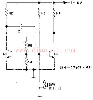 【图】单稳态多谐振荡器的基本介绍信号产生 电路图
