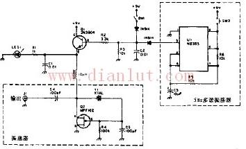 短波脉冲标记振荡器原理图