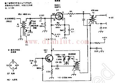 调幅混频振荡器电路图