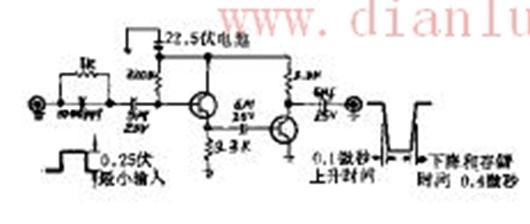 不断电的扫描迹线增辉变换器电路