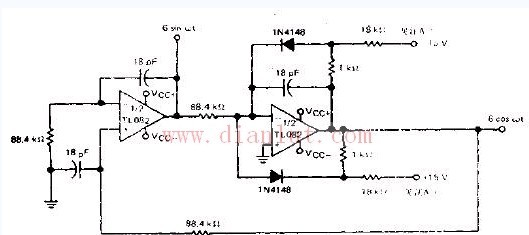 100kHz的正交振荡器电路