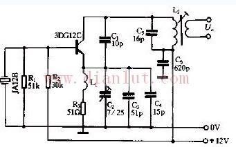 27MHz的晶体振荡电路