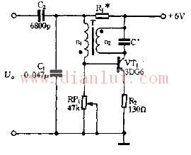 可变频率的低频LC振荡电路原理图