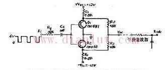 脉冲宽度鉴别器的电路
