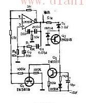 文氏电桥振荡器的原理及电路