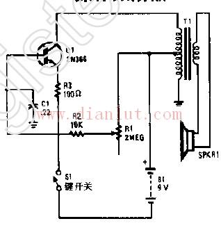 基于2N366晶体管设计振荡器电路