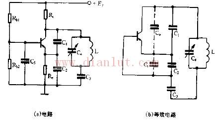 采用基本元件改进电容三点式振荡电路