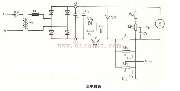 采用二极管设计斩波调压主电路