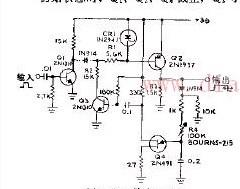 快速上升的宽脉冲发生器电路