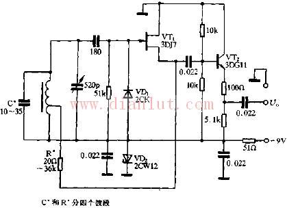 高频LC振荡电路