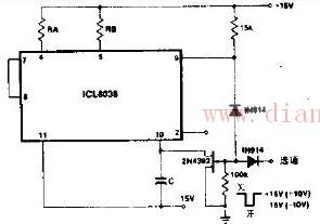 多功能同步选通音频发生器电路