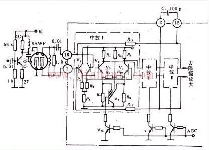 集成中频放大器的电路原理
