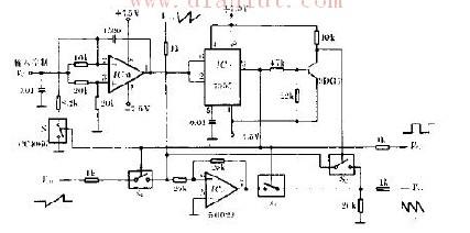 音乐波形发生器电路原理图