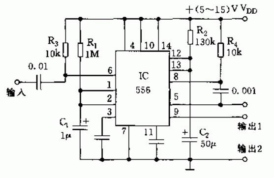 【图】两级顺序定时器原理其它电路图