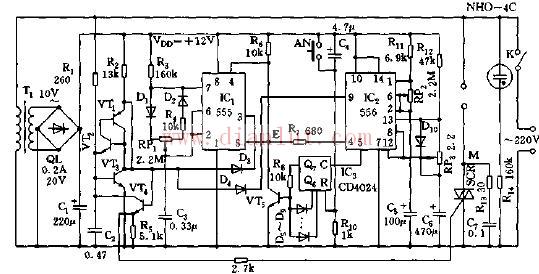 关于电扇综合控制器的原理及电路探讨图片