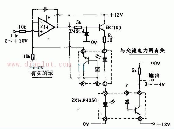 【图】直流-直流光电隔离电路设计光电电路