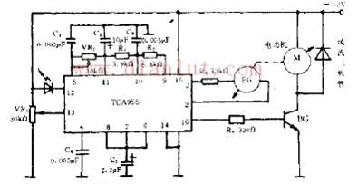 脉冲驱动的原理电路图