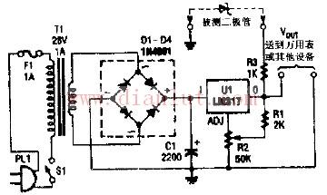 采用整流器的齐纳二极管测试仪