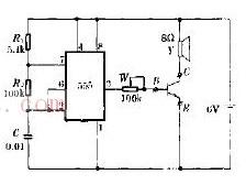 简易晶体管测试器电路工作原理图