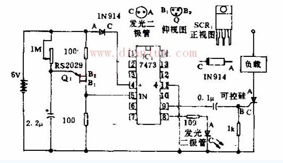 触发器驱动可控硅的工作原理及运行电路图