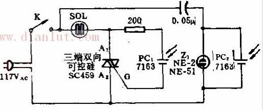 【图】1000w日光控制设备电路图及原理光电电路