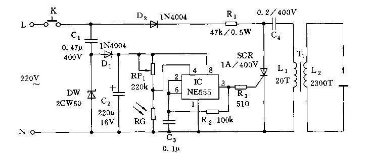 【图】燃气炉全自动点火器电路设计其它电路图