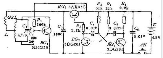 遥控开关发射机电路设计