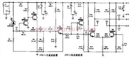 调频光束接收机电路