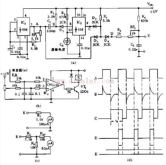 湿度测量控制电路设计