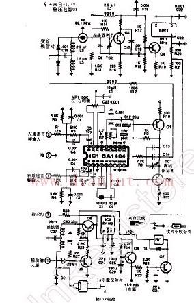 调频(FM)立体声发射机电路