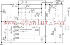 射频信号遥控电器的电路