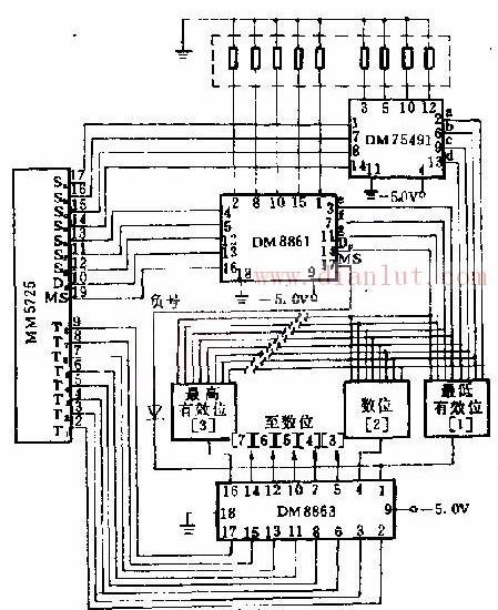8位发光二极管基于DM8863的驱动设计