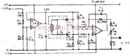 单向感应器电路