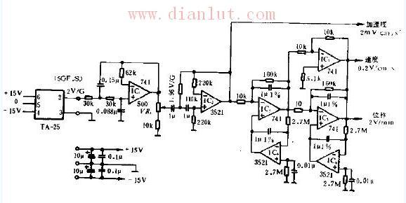 检测振动的实用电路