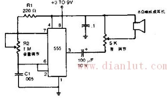 【图】超声波驱蚊电路原理图光电电路