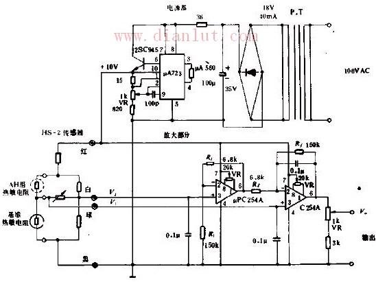 【图】电源和放大电路的原理传感器电路