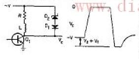 当电流下降时的时间控制电路